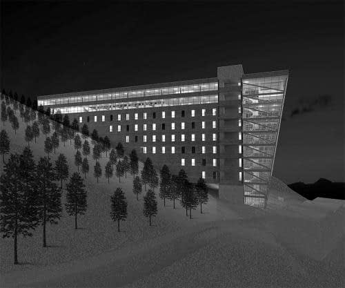 Hostel for Bikers and Snowboarders